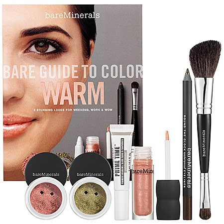 bareMinerals The Bare Guide To Color - Warm
