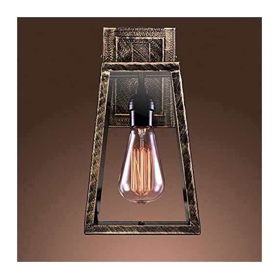 Warehouse of Tiffany Taylor LD-5001 Wall Sconce - Additional limited-time savings reflected in current price Dimensions: 7W x 13H inches Industrial-style sconce with Edison bulb - kitchen-dining-room-decor, kitchen-dining-room, chandeliers-lighting - 51cO54RjTZL. SS570  -