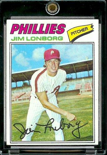Topps 1977° 569 Jim Lonborg Philadelphia Phillie Baseball Card