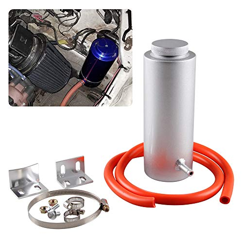 RYANSTAR Radiator Coolant Tank 800ml Universal Coolant Expansion Tank Cooling Catch Bottle Overflow Reservoir Aluminum Billet ()
