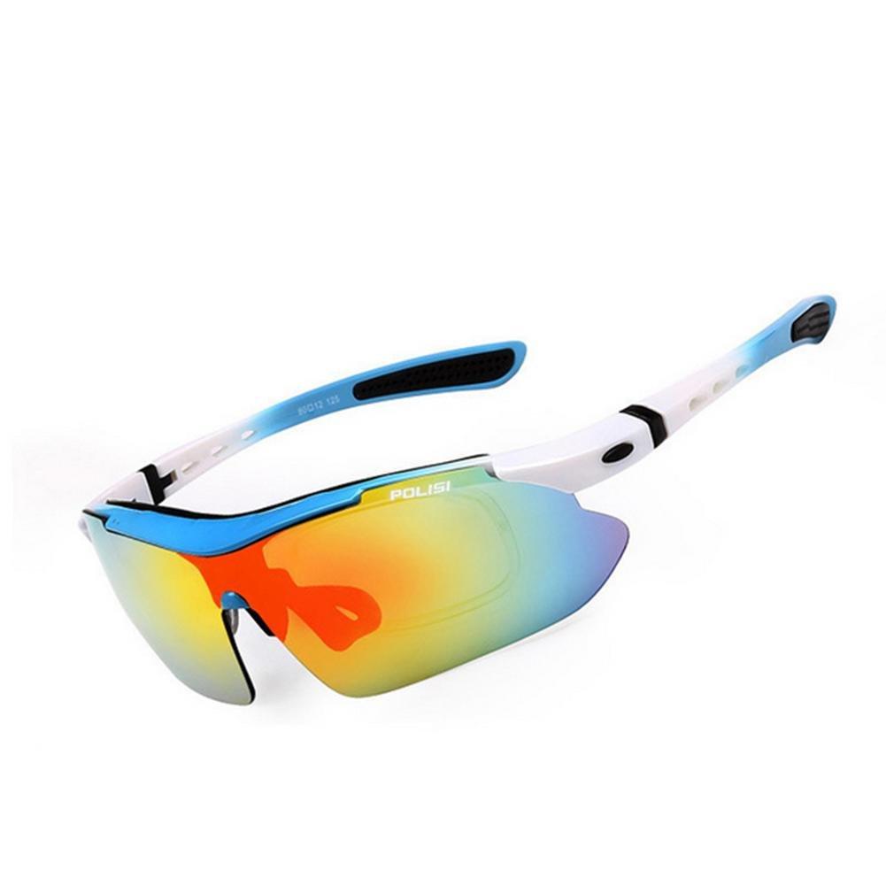 DZW Outdoor Angeln Brille polarisierte Sonnenbrille Bergsteigen fahren Sport Reiten Brille für Film Brille mit Myopie ausgestattet werden können , 13
