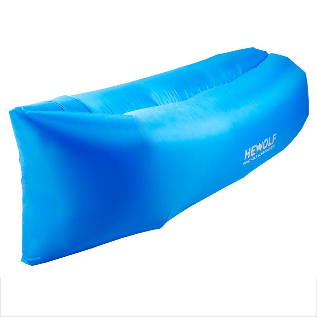 Zheng Hui Shop Aufblasbares Bett des schnellen aufblasbaren Kissens tragbares Innensiesiesofa
