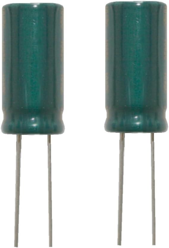 Elko Elektrolytkondensator Low Impedanz 1000uf 35v 105 C 2 Stück 0053 Spielzeug
