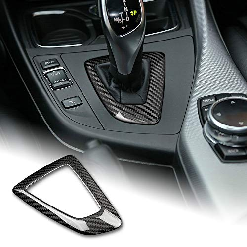 AIRSPEED Carbon Fiber Car Gear Shift Knob Panel Frame Cover Interior Trim Stickers for BMW F20 F21 F22 F23 F30 F34 F35 F32 F33 F36 Accessories