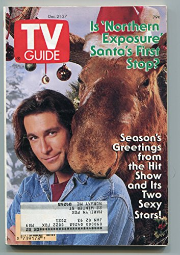- TV Guide-Northern Exposure-Maine Edition-December 1991-VG