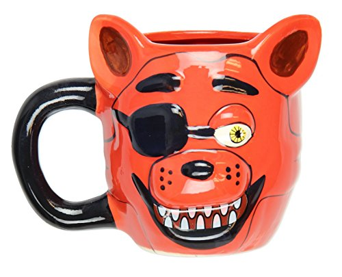 Five Nights At Freddy's Foxy Molded Ceramic Mug]()