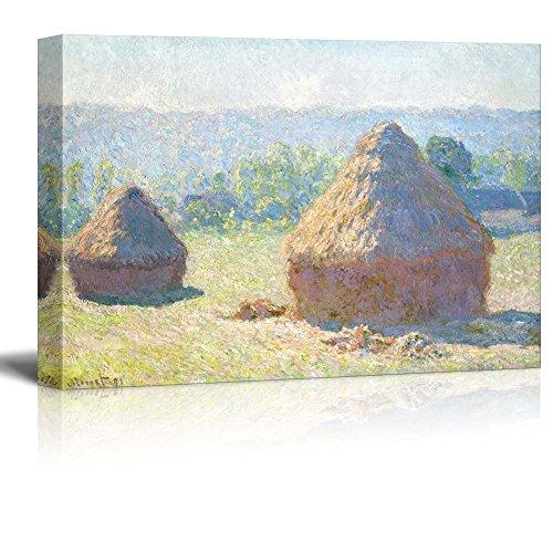 Claude Monet Meules milieu du Jour Haystacks Midday Impressionist Art