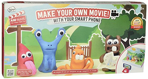 NPW-USA Ani-Mate Clay Animation Movie Maker Kit (Clay Maker)