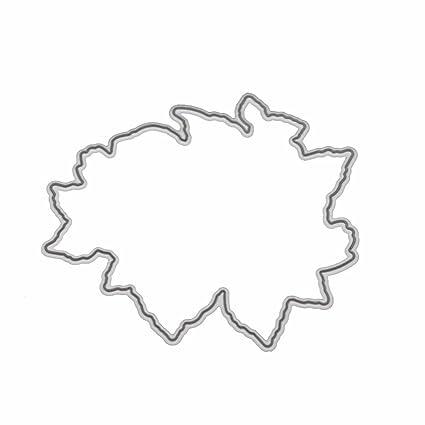 Healifty Cutting Dies Metal Lacework Plantilla Molde para DIY Scrapbooking Wedding Album Paper Craft