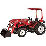 NorTrac 35XT 35 HP 4WD Tractor with Front End Loader - With Turf Tires