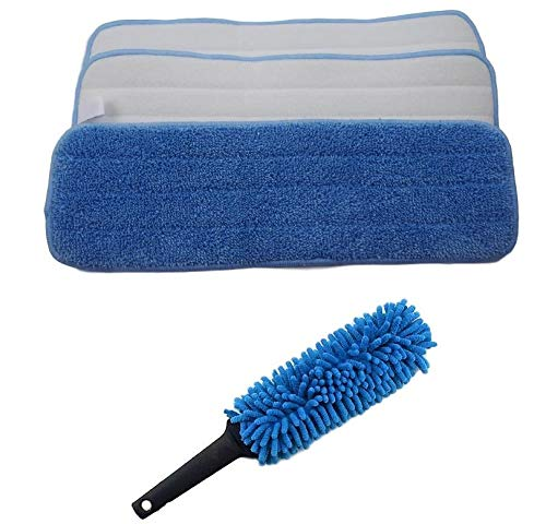 (Pack of 10) Microfiber Mop Pads 18