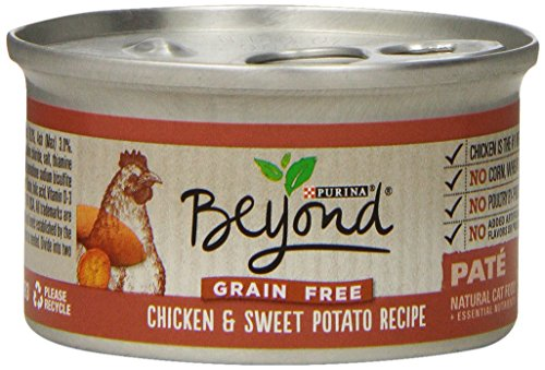 Purina Beyond Natural Canned Cat Food, Grain , Chicken An...