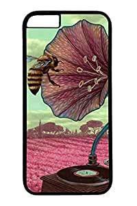 iPhone 6 Plus Case, Gramophone Personalized Slim Protective Hard PC Black Case Cover for Apple iPhone 6 Plus(5.5 inch) Only