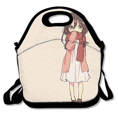 Black Patent Lunch Bag - 8