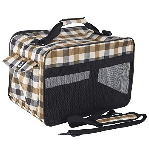 Petper Soft Sided Carrier Pet Cat & Dog Carrying Handbag