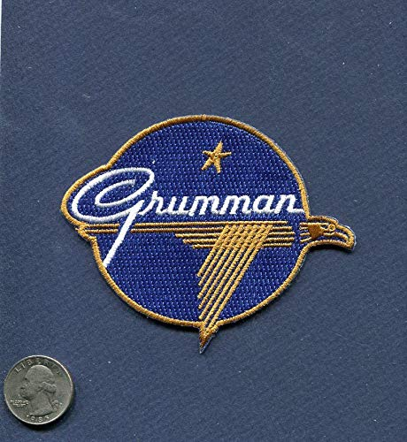 Embroidered Patch-Patches for Women Man- Grumman Aircraft Company