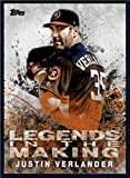 #10: 2018 Topps Legends in the Making #LITM-24 Justin Verlander NM-MT Astros Baseball