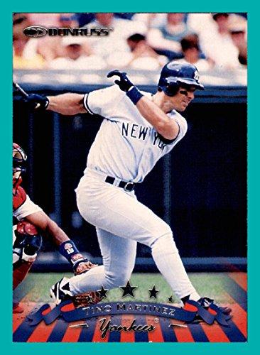 (1998 Donruss #25 Tino Martinez NEW YORK YANKEES)