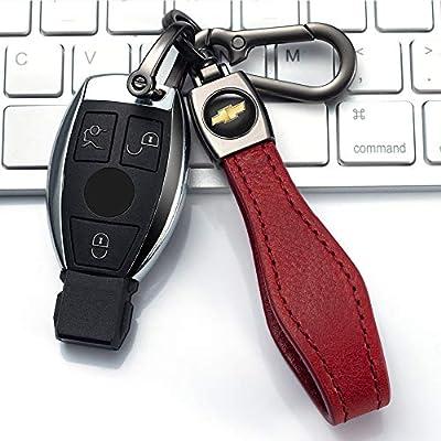 JIYUE Car Keychain Fit for Chevrolet Camaro Cruze Spark Volt, Malibu Bolt Sonic Trax Key Chain Keyring Family Present for Man and Woman(1pcs): Automotive