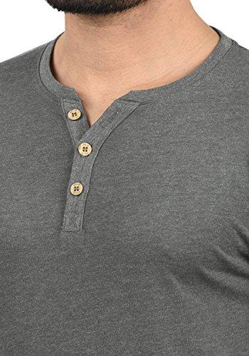 nner M Melange8236 Volko Grau solid Langarmshirt Tunesisches q5RLj34A