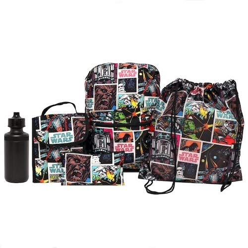 Star Wars 5-Piece Backpack Set