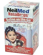 NeilMed NasaDrops Single Use Vials, 15 each, 15 ea