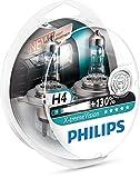 Philips 12342XV+S2 H4 X-Treme Vision +130%, Headlight Car Bulbs (Twin-Pack)