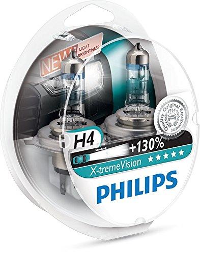 506 opinioni per Philips 12342XV+S2 X-treme Vision Lampada Alogena H4, 12V 60/55W