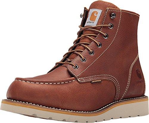 Carhartt Men's CMW6175 6-Inch Waterproof Wedge Soft Toe Work Boot, Tan, 11 M US (Carhartt Boots)