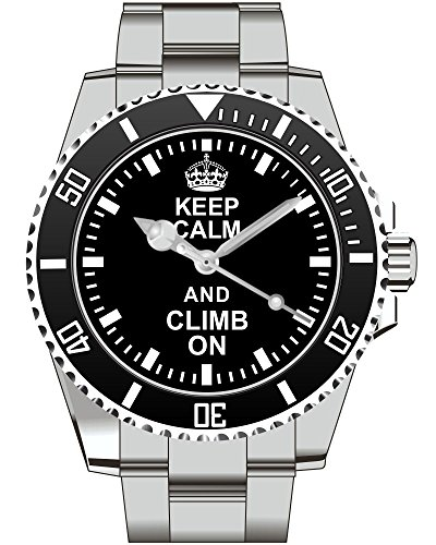 Keep calm and Climb on - Kiesenberg Uhr 2060