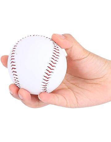 Pelotas de Béisbol Deportes Bolas de Béisbol Suave Cuero de Vaca Tamaño Estándar 9 Pulgadas Reducir