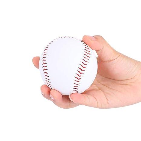 Pelotas de Béisbol Deportes Bolas de Béisbol Suave Cuero de Vaca ...