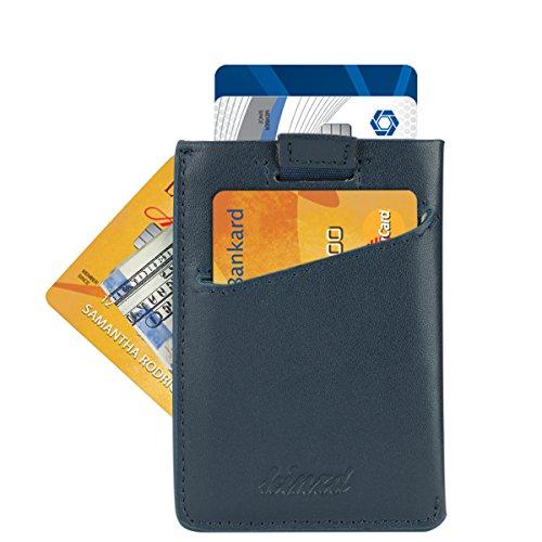 Minimalist Slim Wallet Credit Card Holder Front Pocket Wallet for Card Cash