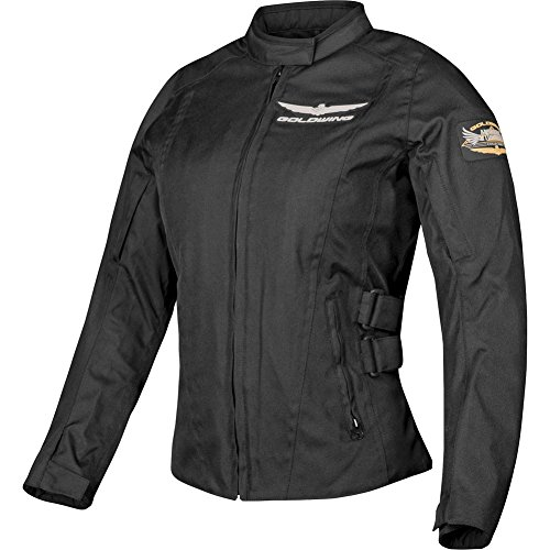 Honda Goldwing Touring Women's Textile Street Motorcycle Jacket - Black / 3X-Large