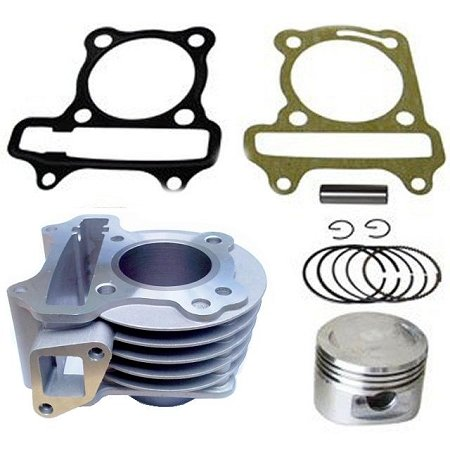 Big Bore Kit GY6 50cc to 80cc Scooter Moped 139 QMB 139QMB Cylinder Piston Tao Tao Kazuma by FixRightPro