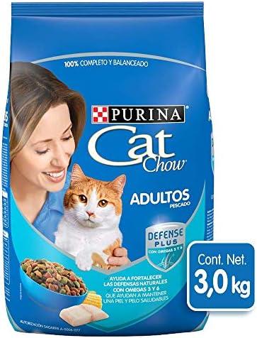 Cat Chow Purina Comida para Gato Adulto Pescado 3Kg 2