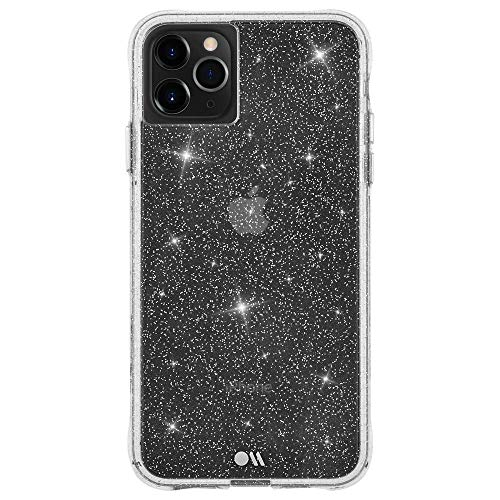 Case-Mate - iPhone 11 Pro Sparkle Case - Sheer