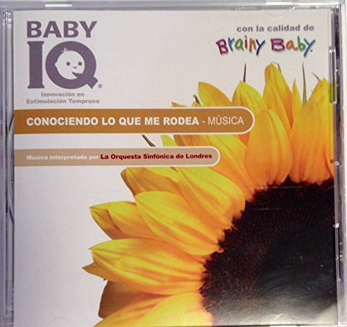 BRAINY BABY - BABY IQ: CONOCIENDO LO QUE ME RODEA -THE WORLD AROUND US (CD Spanish)
