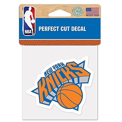 "NBA New York Knicks Die-Cut Color Decal, 8""x8"", Team Color"