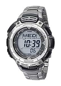 Casio Men's PAW1100T-7V Pathfinder Triple-Sensor Titanium Bracelet Watch