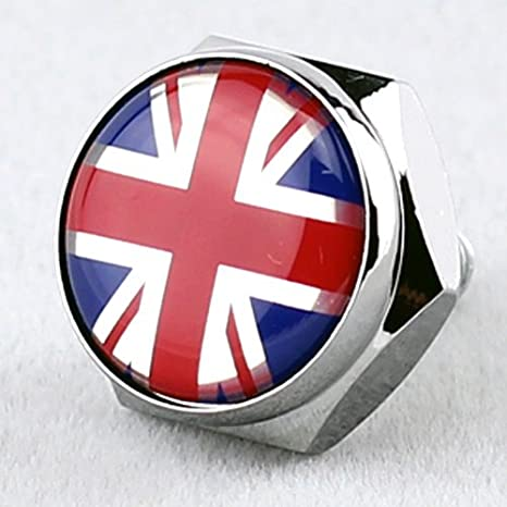 Free Fixings Automobilia Supply Gb Union Jack Car Grille Badge Car Badges