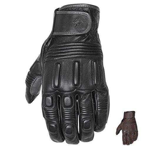 Scorpion G26-033 Bixby Classic Motorcycle Glove G25-033 (Black, Small)