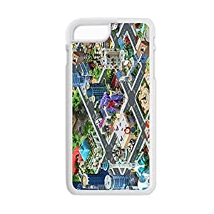 Printing With Megapolis For 5.5Inch Iphone 6 Plus Art Back Phone Case Choose Design 3