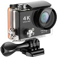 Hawk Helmets Vision H20 4K Waterproof Action Camera w/ Wifi - One Size