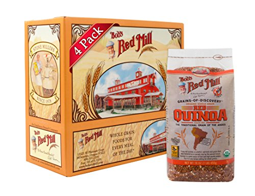 Bob's Red Mill Organic Red Quinoa Grain