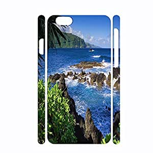 Cool Nature Series Pattern Print on Hard Plastic Phone Case for Iphone 6