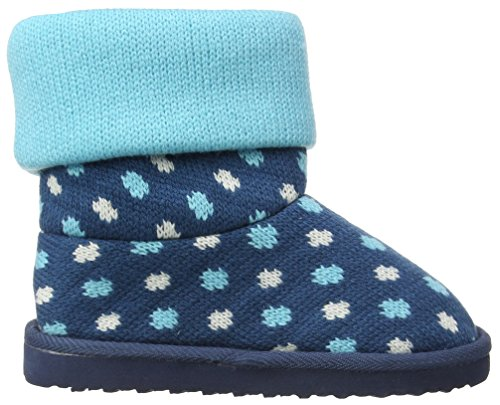 Pumpkin Patch Spot Winter Warmer, Mädchen Stiefel Blau (Storm Blue)