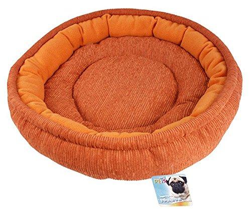 Fancy Pets TX10107 Cama Economica Redonda, Mediana, Colores Surtidos