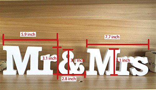 Mr And Mrs Sign Large Rustic Wedding Decorations ILoveCos