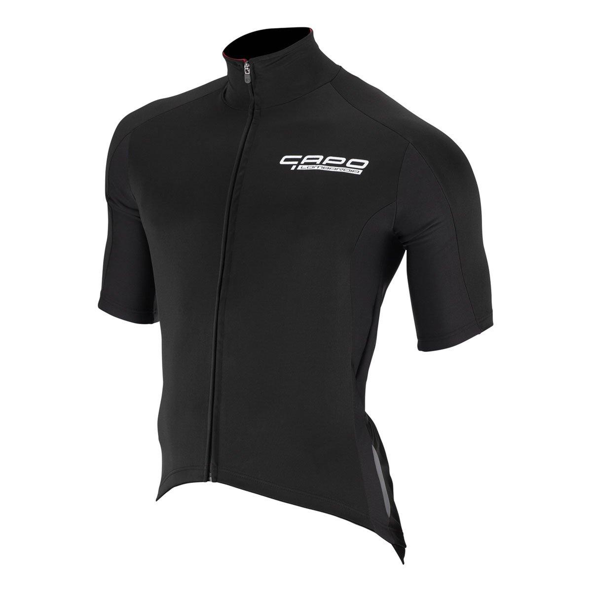 Amazon.com   Capo Lombardia DWR Jersey - Men s Black 768a8c107